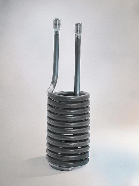 Spiralförmiger Wärmetauscher