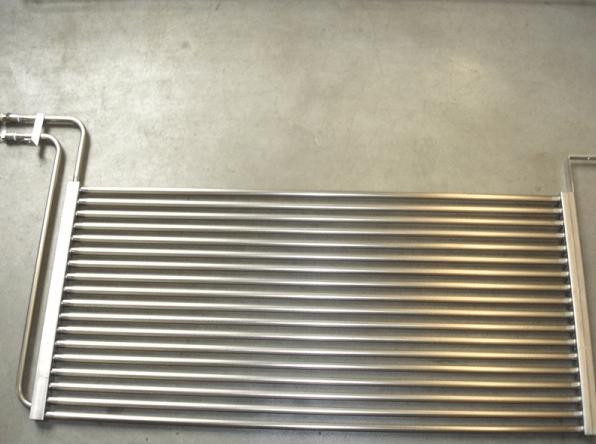 Titan-Wärmetauscher Registerbauform
